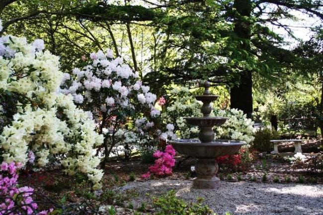 Springtime gardens at Kubba Roonga.