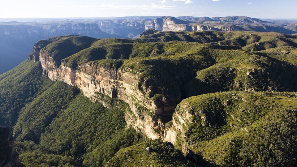 The Blue Mountains. Image: AME Blue Mountains/Macquarie Forum Facebook page.